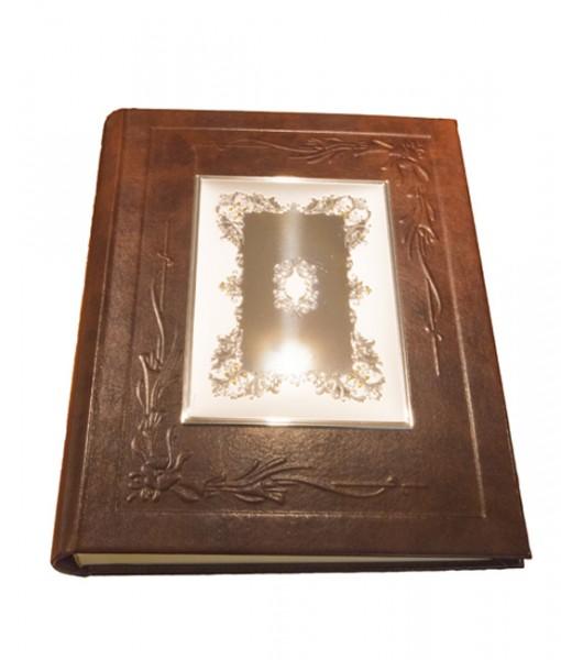 Gioielleria Gaggioli italsilver-album-pelle-marrone-925 1742