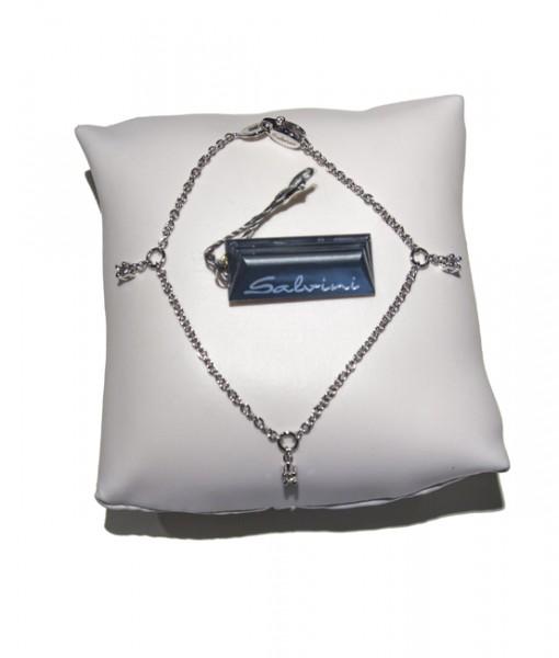 Gioielleria Gaggioli salvini-bracciale-donna-oro-bianco-diamanti-pendenti-20014098