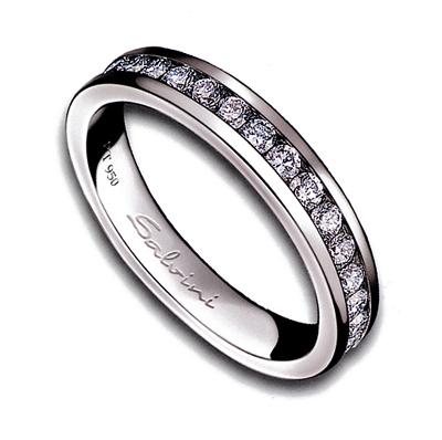 miglior servizio 23b4a b3684 Salvini, anello in Platino e diamanti Collezione Forever, Ref. 20012563 383