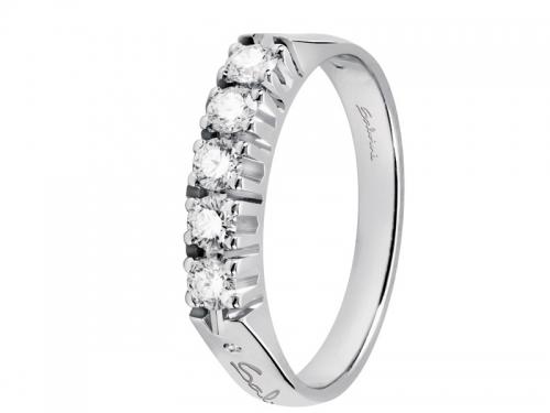 data di rilascio: 7aab9 3fc67 Salvini, anello in Oro bianco 18 ct. e Diamanti Collezione Verette