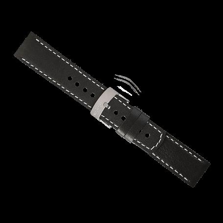 cinturino elementum terra pelle nera