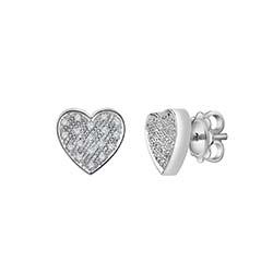 orecchini cuore salvini