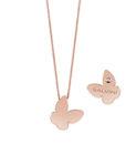 Collana Salvini oro rosa farfalla