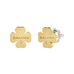 orecchini quadrif. giallo salvini